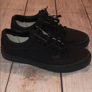 Men's Black Vans